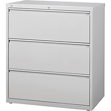Lorell 3 Drawer Lt Gray Lateral