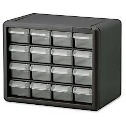 Akro Mils 16 Drawer Plastic Storage