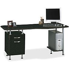 Mayline Compact BoxFile Desk Computer Workstation