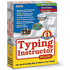 Typing Instructor Deluxe 173 Download Version
