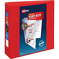 Avery Heavy Duty EZD Ring Reference
