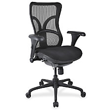 Lorell High back Fabric Seat Chairs