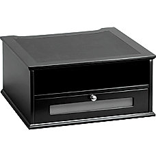 Victor Midnight Black Collection Monitor Riser