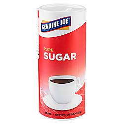 Genuine Joe Pure Sugar Canisters 20