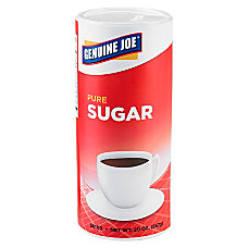Genuine Joe Pure Sugar Canisters 20