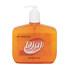 Dial Antimicrobial Liquid Hand Soap Unscented