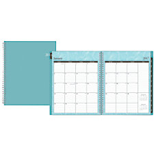 Blue Sky Wire O WeeklyMonthly Planner