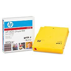 HP LTO Ultrium x 3 800
