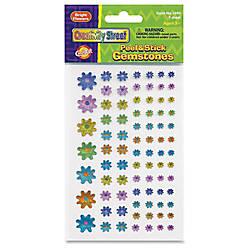ChenilleKraft PeelStick Flower shaped Gemstones Learning