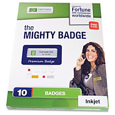 Imprint Plus Mighty Badge Name Badge