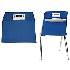 Seat Sack Organizers Standard 14 Blue
