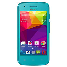BLU Dash J Cell Phone Blue