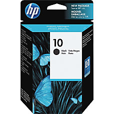 HP 10 Black Original Ink Cartridge