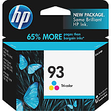 HP 93 Tri color Original Ink