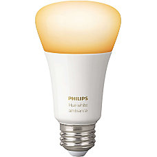 Philips hue White A19 Single Bulb
