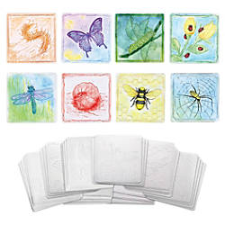 ChenilleKraft 6 Embossed Paper Insects Set