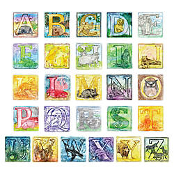 ChenilleKraft Alphabet Embossed Paper Set 6