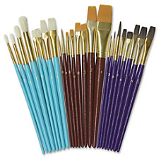 ChenilleKraft Multimedia Paint Brush Set 24