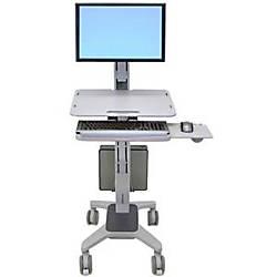 Ergotron WorkFit C Sit Stand Workstation