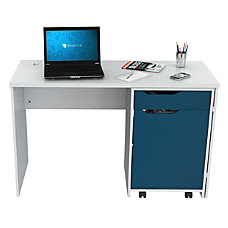 Inval Swing Out Storage Desk Laricina