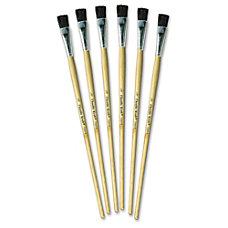 ChenilleKraft 12 Tempera Brush Set 6