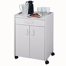 Safco Refreshment Cart With Drawer 31