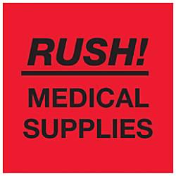 Tape Logic Preprinted Labels Rush Medical
