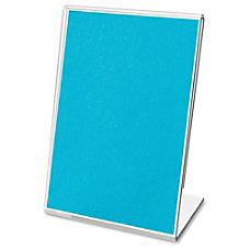 deflecto Mini Tabletop Sign Holder Plastic