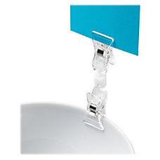 deflecto VersaGrip Double Clip Sign Holder