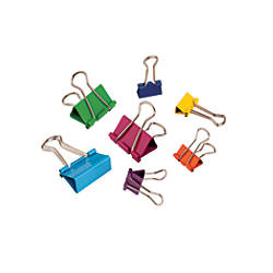 Fashion Binder Clips Assorted Sizes Assorted
