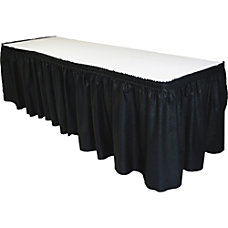 Tablemate Disposable Linen like Tableskirt 29
