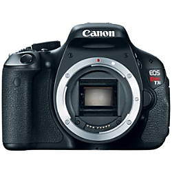 Canon EOS Rebel T3i 18 Megapixel Digital SLR Camera (Body Only)