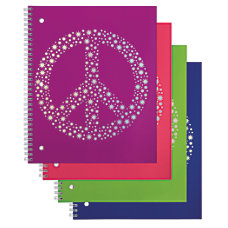 Office Depot Brand Fashion Notebook Peace