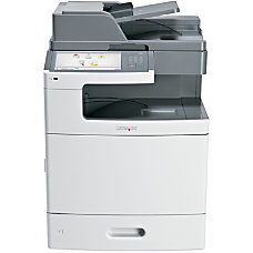Lexmark X792DE Color Laser All In