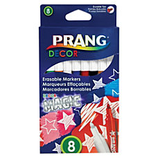 Prang Decor Magic Erasable Markers Conical