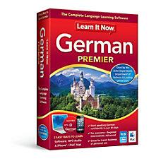 Learn It Now German Mac Download