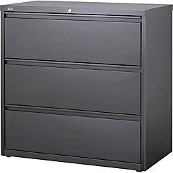 Lorell Hanging File Drawer Charcoal Lateral