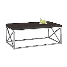 Monarch Specialties Coffee Table Rectangular 17
