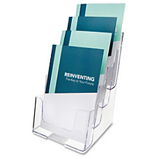 Deflect o Booklet Holder 4 Compartments