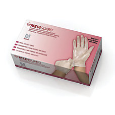 MediGuard Select Synthetic Vinyl Exam Gloves