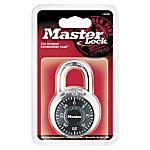 Master Lock Combination Padlock Black Pack