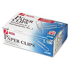 ACCO Premium Paper Clips No 1