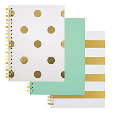 Divoga Gold Struck Personal Size Notebook