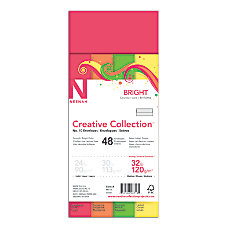 Neenah Brights FSC Certified Envelopes 10