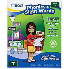 Mead PhonicsSight Words Grade 1 Workbook