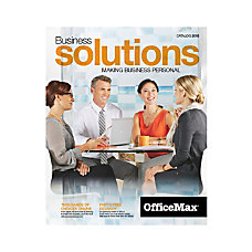 2016 OfficeMax Business Solutions Catalog