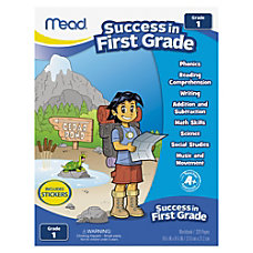 Mead Grade 1 Comprehension Workbook Education