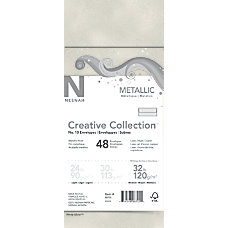 Neenah Metallics FSC Certified Envelopes 10