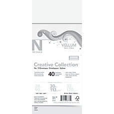 Neenah Vellum FSC Certified Envelopes 10
