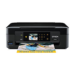 Epson® Expression® Home XP-410 Small-In-One® Inkjet Printer, Copier, Scanner, Photo